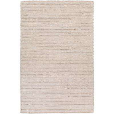 Vasilisa White 8 ft. x 10 ft. Area Rug