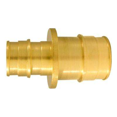 1 in. x 3/4 in. Brass PEX-A Expansion Reducing Barb Coupling (5-Pack)