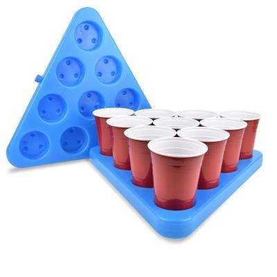 N-Ice Rack Freezable Beer Pong Rack Set, Includes 2-Racks, 3-Balls and Rules