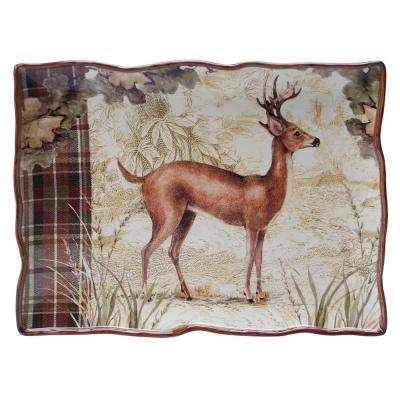 The Rustic Nature Collection 16 in. x 12 in. Rectangular Platter