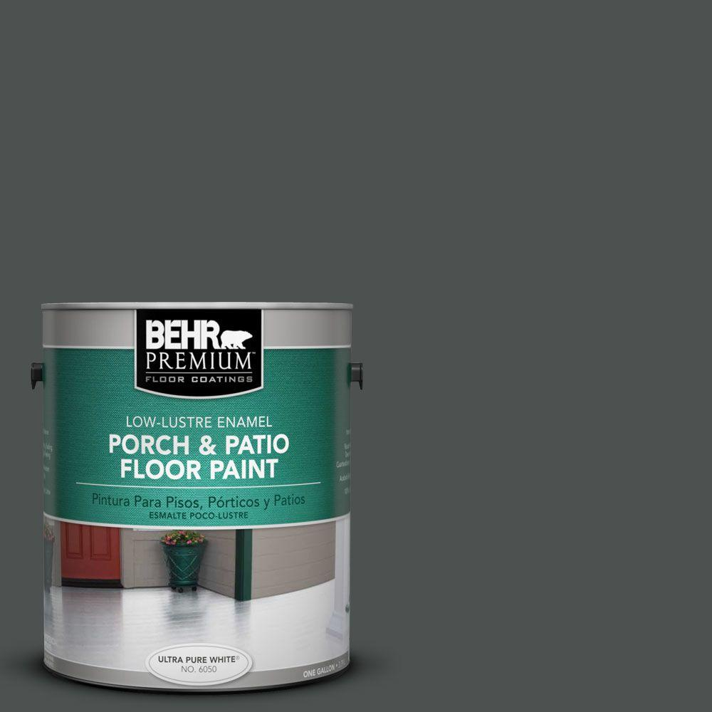 BEHR Premium 1 gal. #PFC-70 Putting Green Low-Lustre Interior/Exterior Porch and Patio Floor Paint