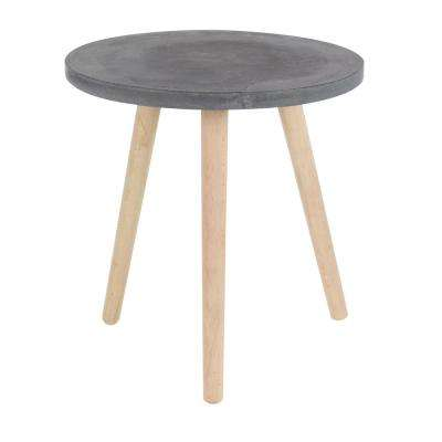 Wood Fiber Clay Table in Black