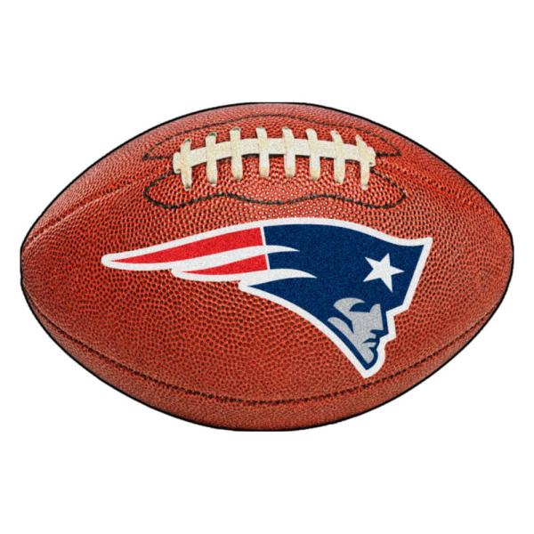 NFL New England Patriots Photorealistic 20.5 in. x 32.5 in Football Mat