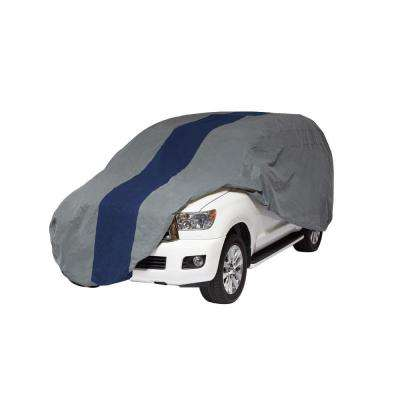 Double Defender SUV or Pickup with Shell/Bed Cap Semi-Custom Cover Fits up to 17 ft. 5 in.