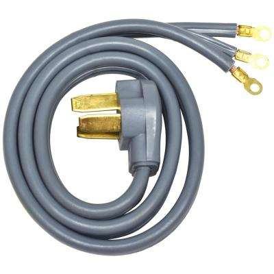 4 ft. 6/8 3-Wire Electric Range Plug