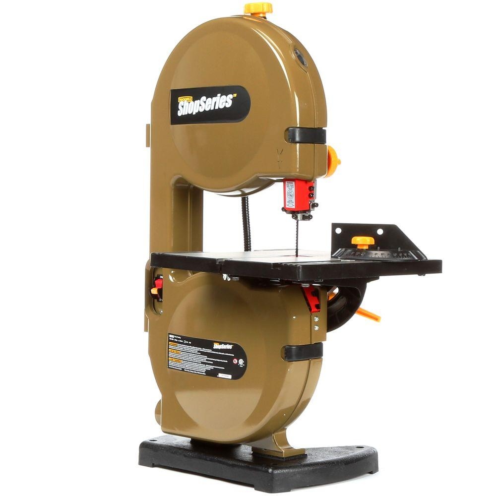 Rockwell 25 amp 9 in band saw with 59 12 in blade and work light band saw with 59 12 in greentooth Gallery