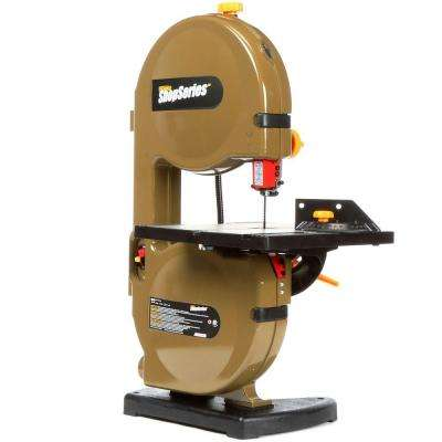 2.5 Amp 9 in. Band Saw with 59-1/2 in. Blade and Work Light