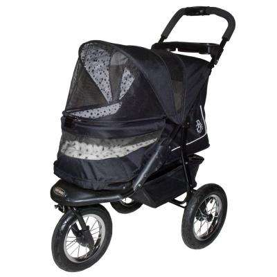 30 in. x 13 in. x 22 in. Dalmatian NV No-Zip Pet Stroller