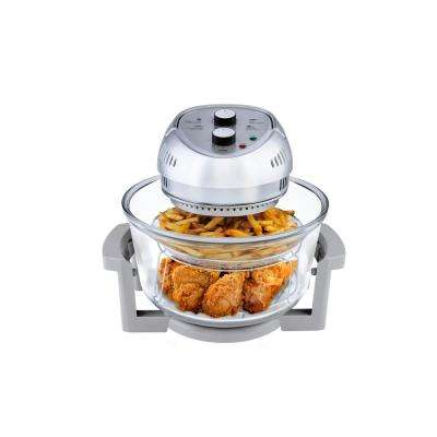 16 Qt. Convection Countertop Oil-less Fryer Oven, Silver
