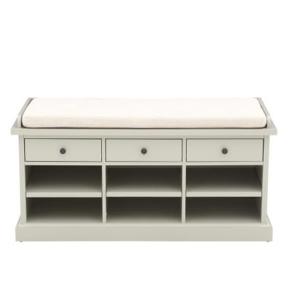 Hampton Storage Grey Bench