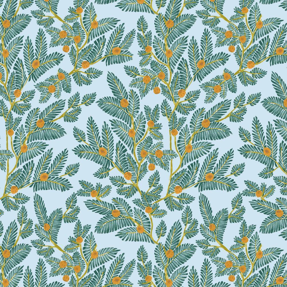 Eugene Leaf Fabric by the Yard