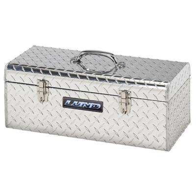 24 in. Aluminum Hand-Held Tool Box