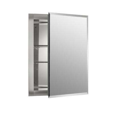 16 In W X 20 H 5 D Aluminum Recessed