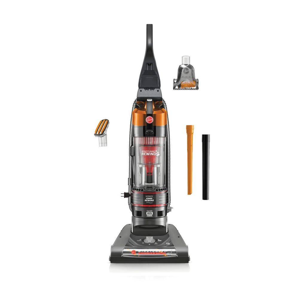 Hoover Hoover WindTunnel 2 Pet Rewind Bagless Upright Vacuum Cleaner in Orange
