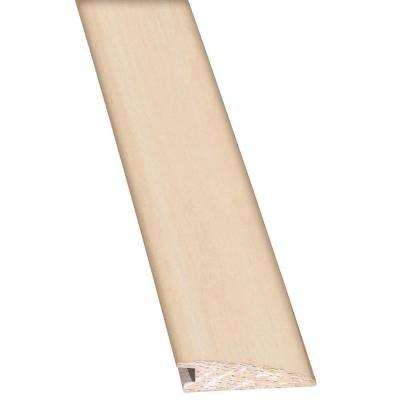 Maple Frosted 3/8 in. Thick x 2 in. Wide x 78 in. Length Hardwood Flush Mount Reducer Molding