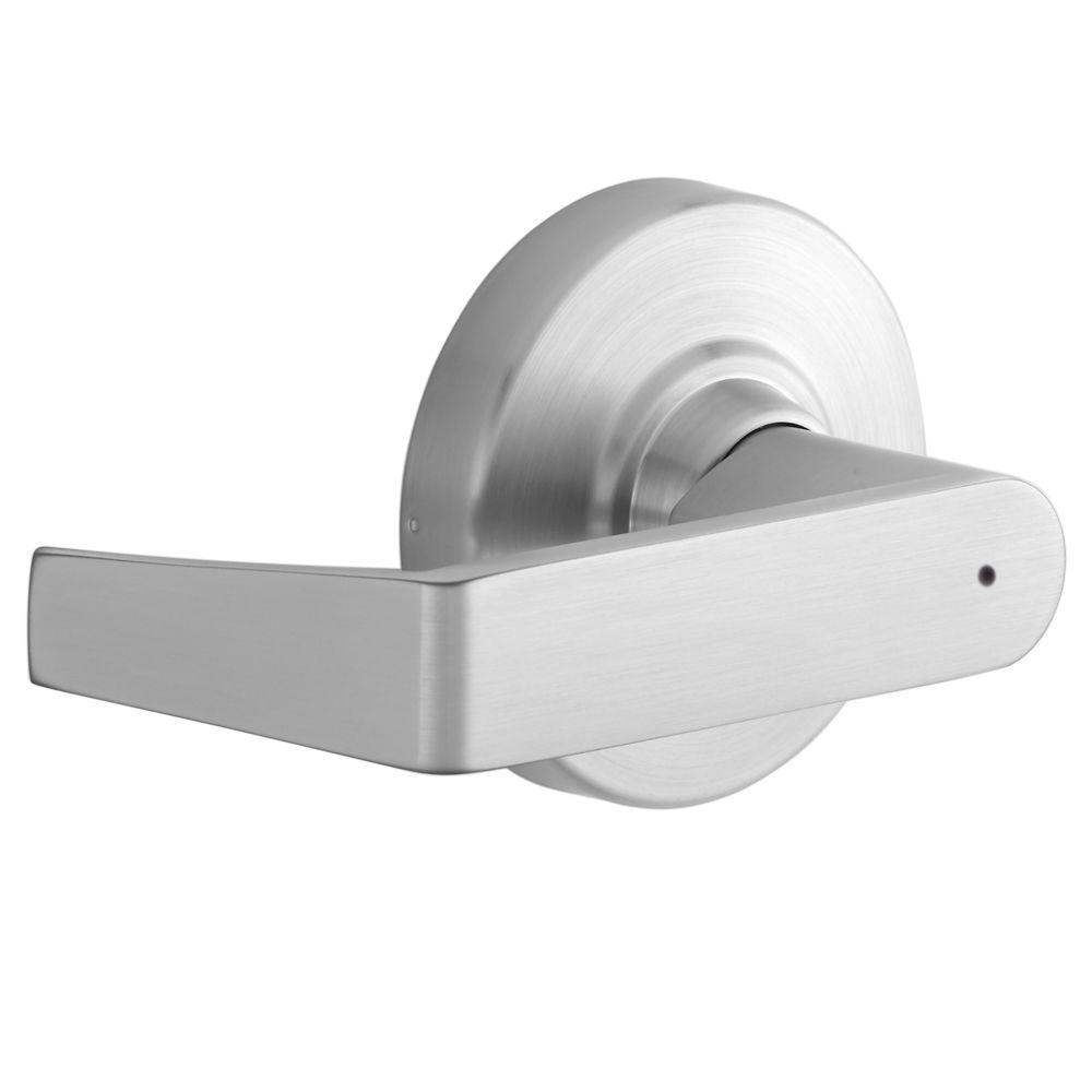 Schlage Rhodes Satin Chrome Heavy Duty Commercial Privacy Door Lever