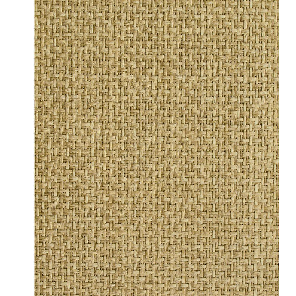The Wallpaper Company 72 sq. ft. Driftwood Barley Wallpaper-DISCONTINUED