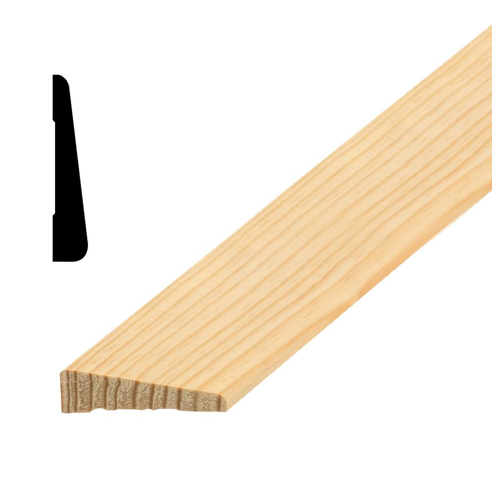 OP3000 1/2 in. x 1-1/2 in. Random Length Solid Pine Casing