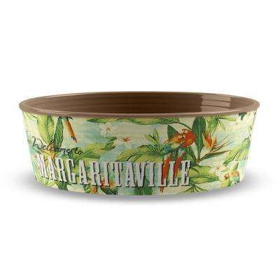 Margaritaville Hawaiian Tropic Large Pet Bowl