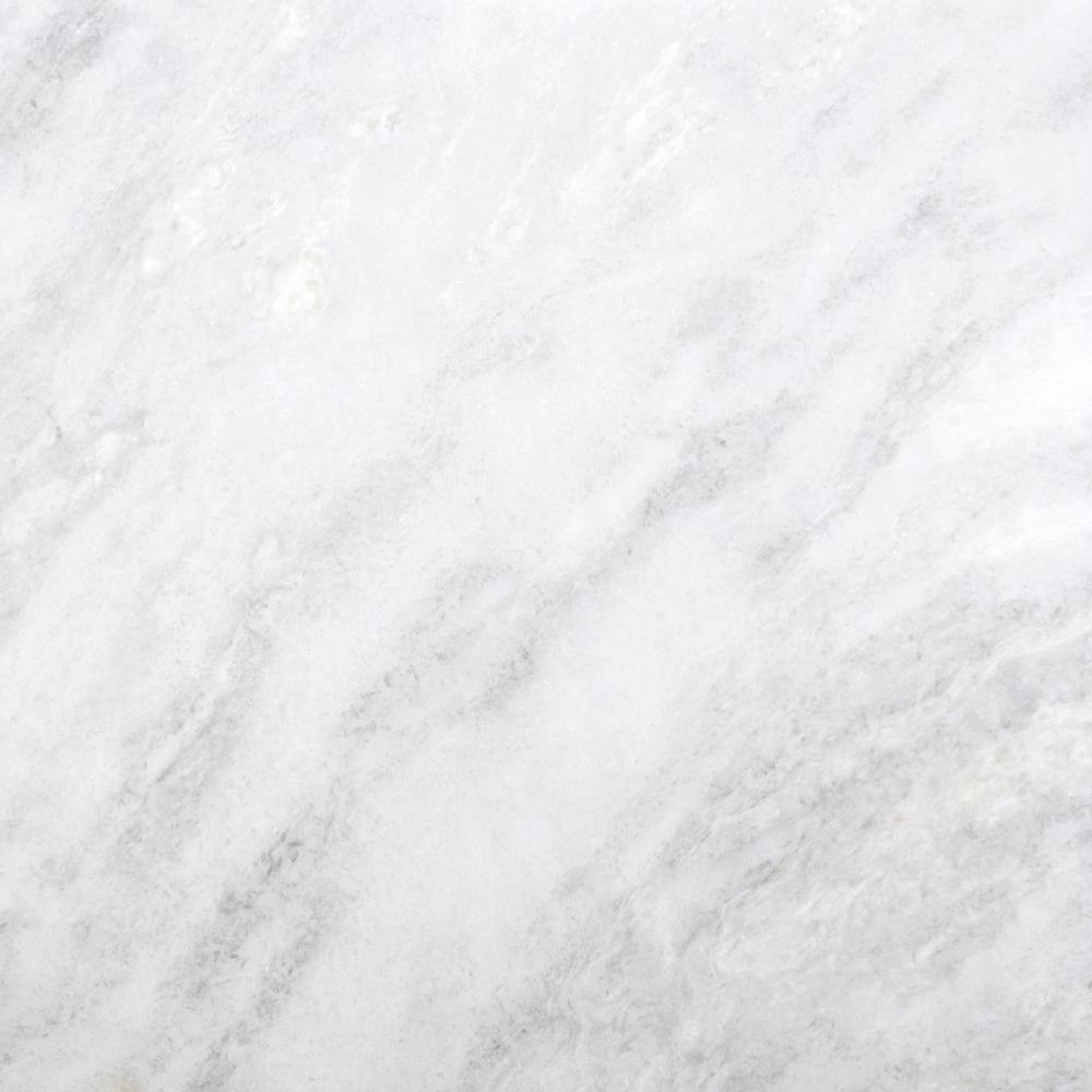 Marble Kalta Bianco Polished 32.01 in. x 32.01 in. Marble Floor