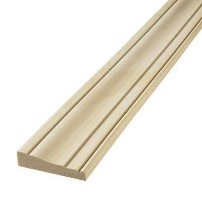 HD 445 11/16 in. x 3-1/4 in. x 96 in. Polyurethane Flexible Straight Casing