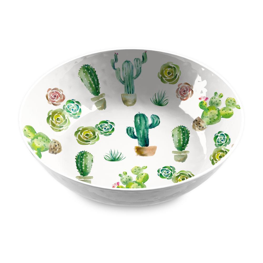 Desert Garden Melamine Serve Bowl
