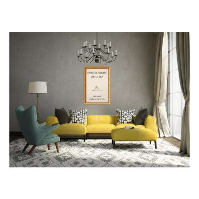 Townhouse 24 in. x 36 in. Gold Picture Frame