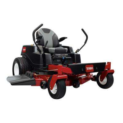 TimeCutter MX5050 50 in. 24.5 HP Fabricated Deck V-Twin Gas Dual Hydrostatic Riding Zero Turn Mower with Smart Speed