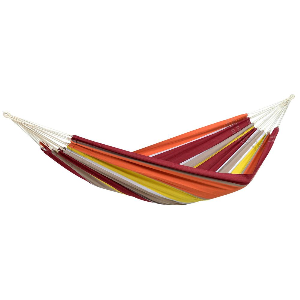 byer of maine 11 ft  2 in  cotton poly brazilian hammock byer of maine 11 ft  2 in  cotton poly brazilian hammock a101894      rh   homedepot