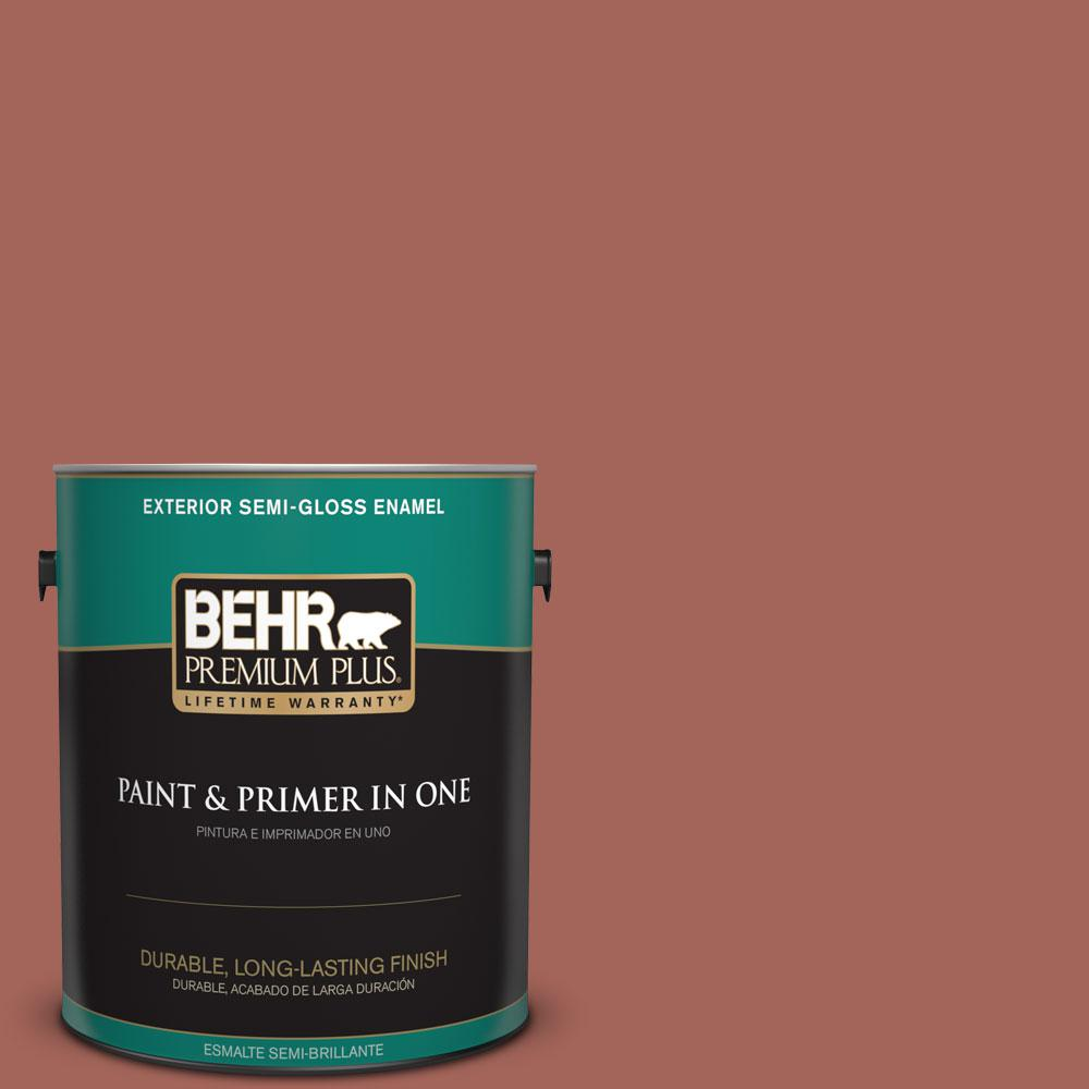 Home Decorators Collection 1-gal. #HDC-CL-08 Sun Baked Earth Semi-Gloss Enamel