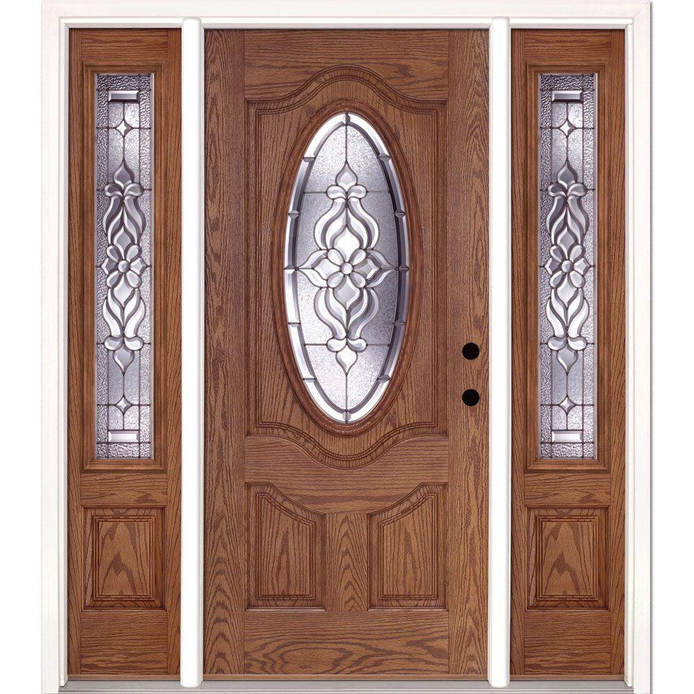 Feather River Doors 67 5 In X81 625 Lakewood Zinc 3 4