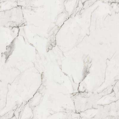 5 ft. x 12 ft. Laminate Sheet in 180fx Calacatta Marble with SatinTouch