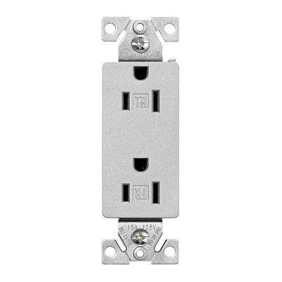 Silver - Electrical Outlets & Receptacles - Wiring Devices & Light ...
