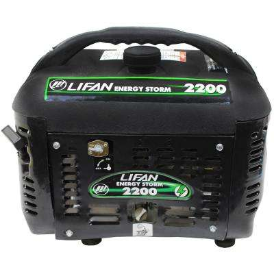 Energy Storm 2,200/1,800-Watt Gasoline Powered Portable Generator for Camping and Outdoors Events