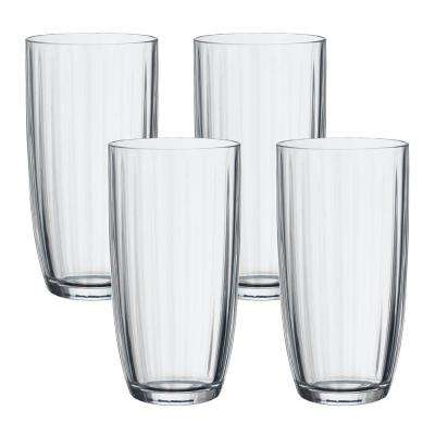 Artesano 20-1/4 oz. Clear Large Tumbler (4-Pack)
