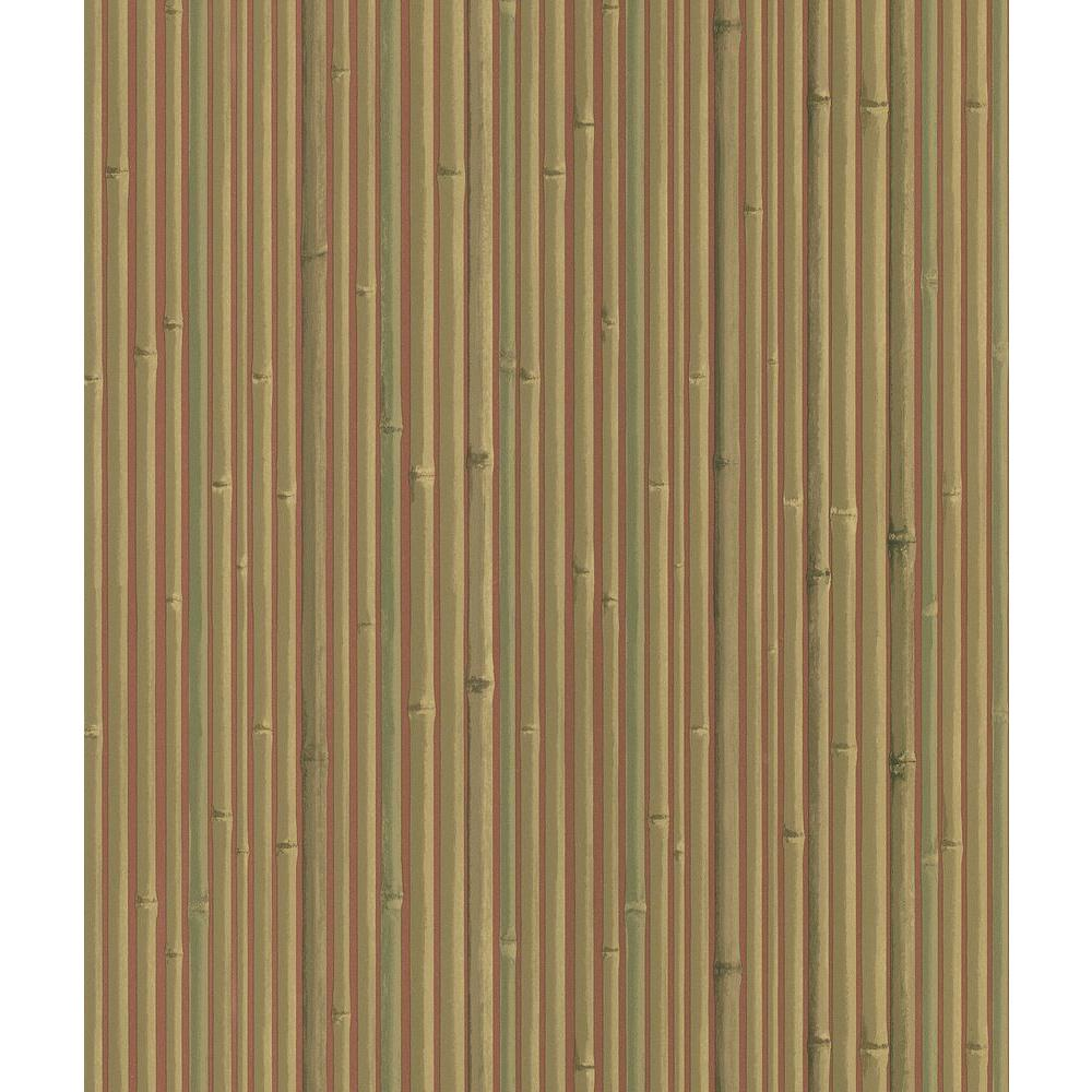 National Geographic Kyoto Red Bamboo Wallpaper Sample