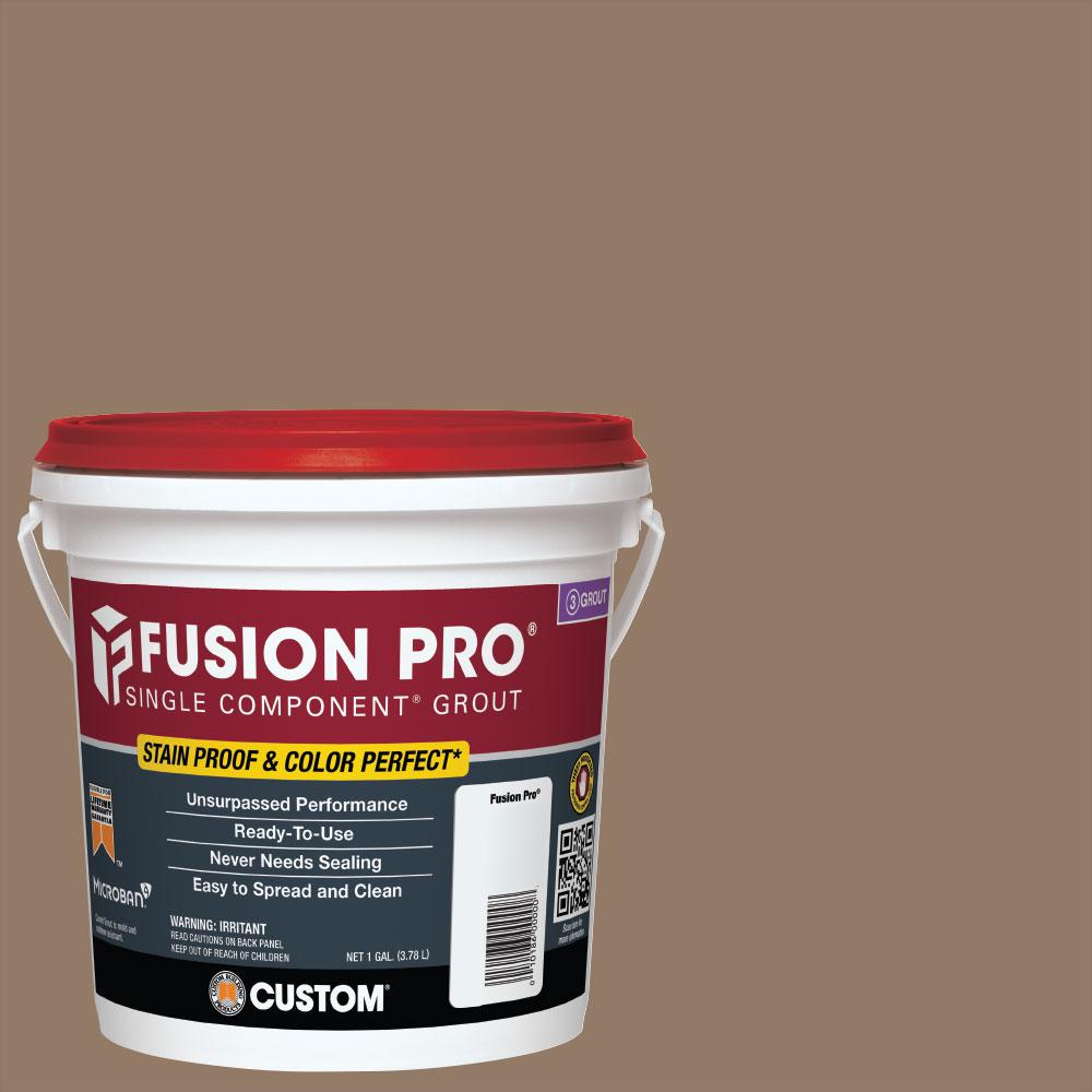 Custom Building Products Fusion Pro #105 Earth 1 Gal. Single Component Grout