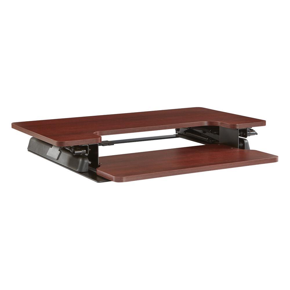 Napa Desk Riser in Mahogany