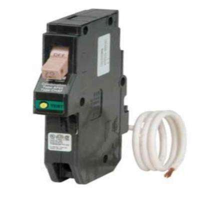 20 Amp 1 Pole Type CH Arc Fault Plug On Neutral Circuit Breaker