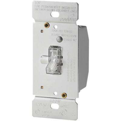 600-Watt 120-Volt Single-Pole 3-Way Lighted Incandescent/Halogen Toggle Dimmer
