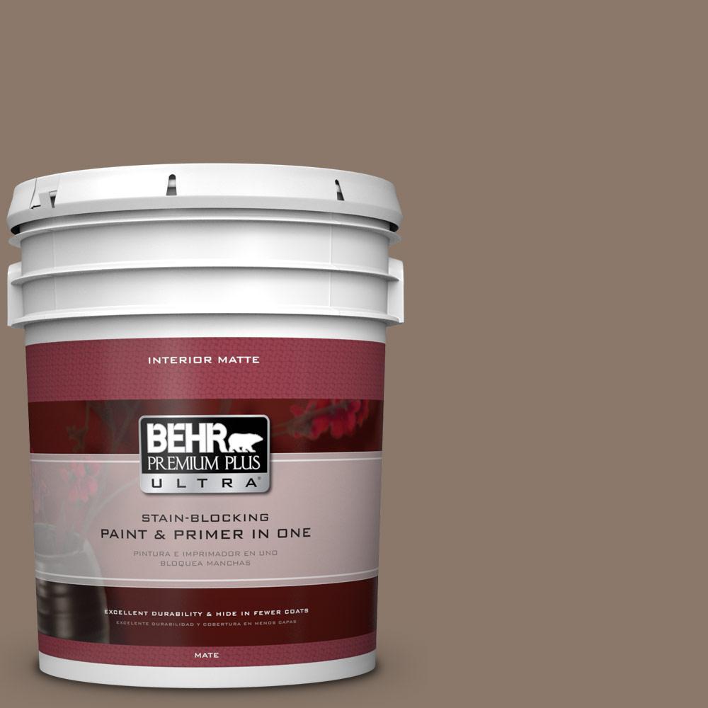 5 gal. #N210-5 Caffeine Matte Interior Paint