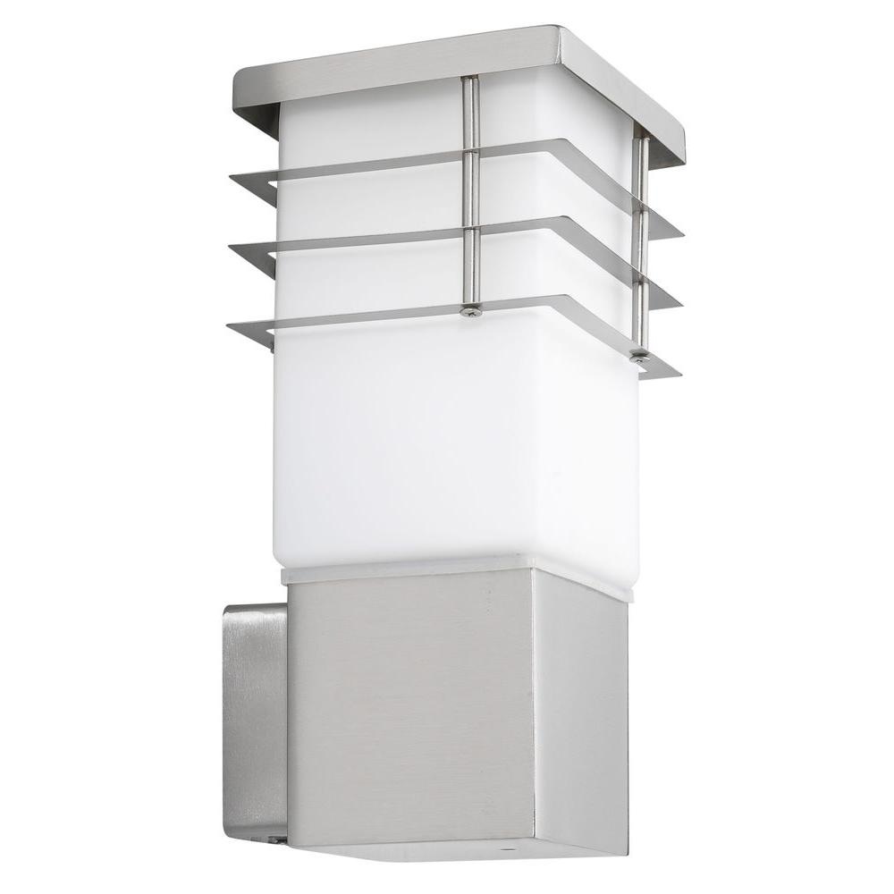 Calgary Stainless Steel Outdoor Wall-Mount Light