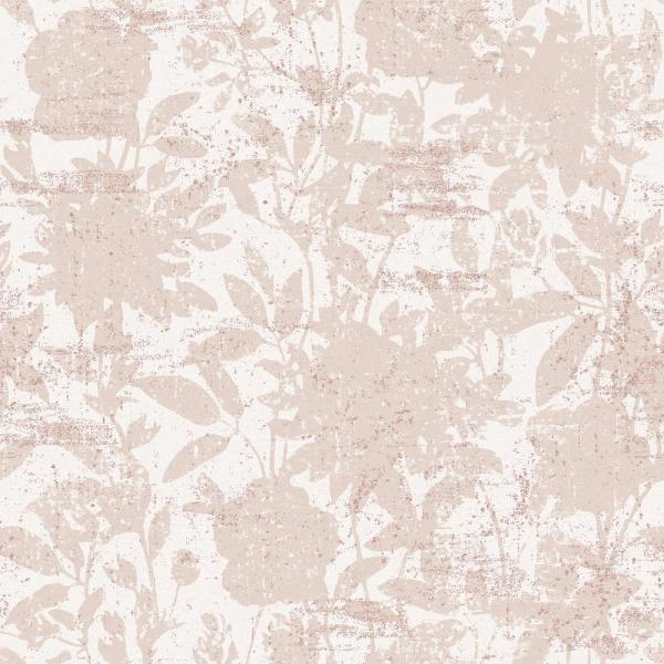 Tempaper CosmoLiving Garden Floral Dusted Pink Self-Adhesive, Removable