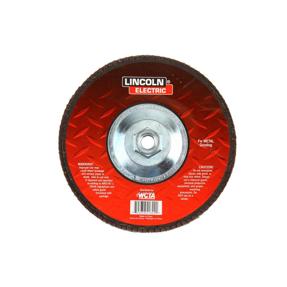 7 in. 36-Grit Flap Disc