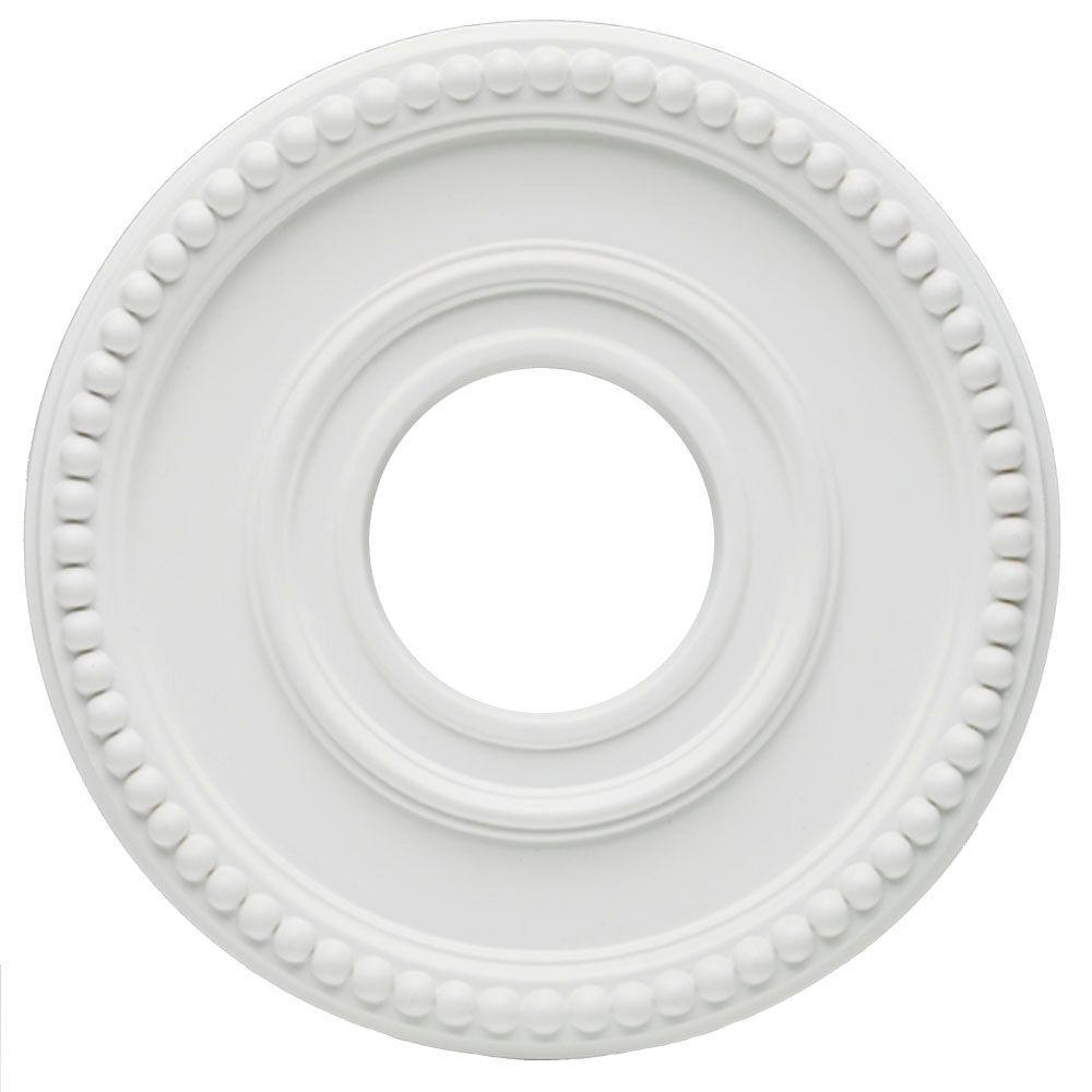 Amazing White Finish Ceiling Medallion