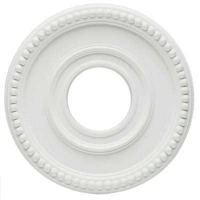 Colonnade 12-1/2 in. White Finish Ceiling Medallion