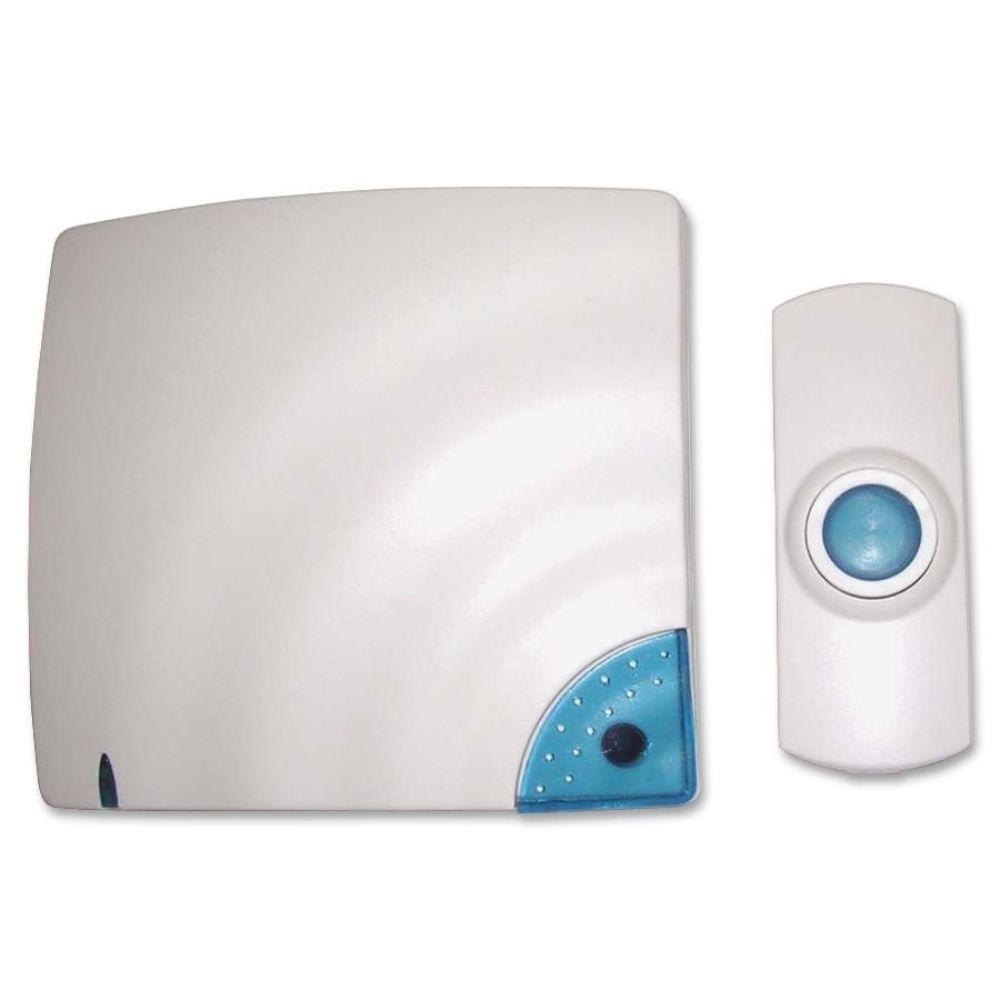 3.5 in. x .8 in. x 1.3 in. Wireless Door Bell