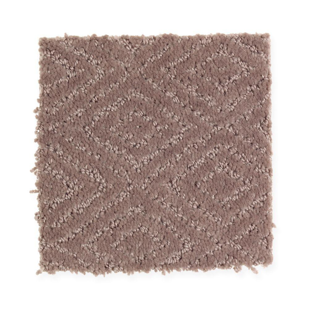 Carpet Sample - Hammock - Color Spiced Clove Pattern 8 in.