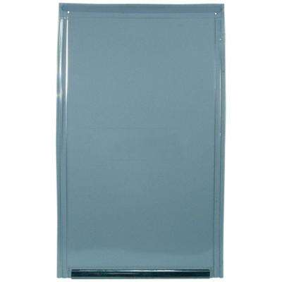 10.5 in. x 15 in. Extra Large Replacement Flap For Aluminum Frame Pet Door Old Style Does Not Have Rivets On Bottom Bar