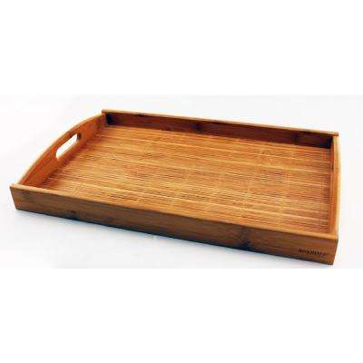 Bamboo 17.5 in. Tray